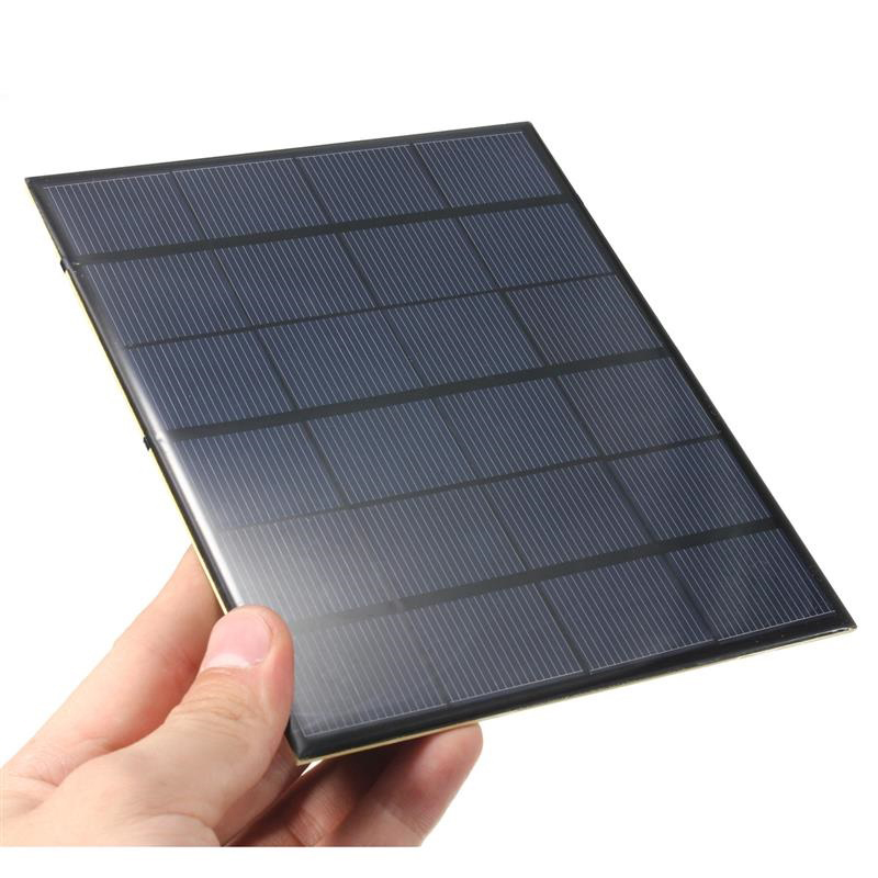 3.5W 6V Polysilicon Epoxy Solar Panel Cell Battery Charger