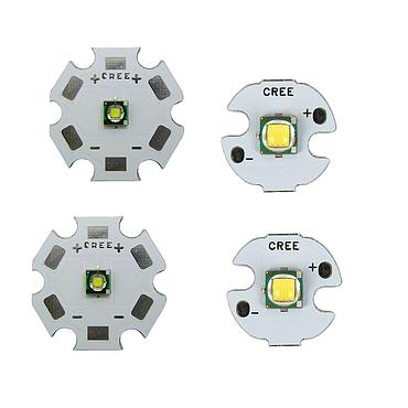 10W CREE XML T6 U2 High Power LED Emitter White 6500K With 12-32mm Aluminum/ Copper PCB