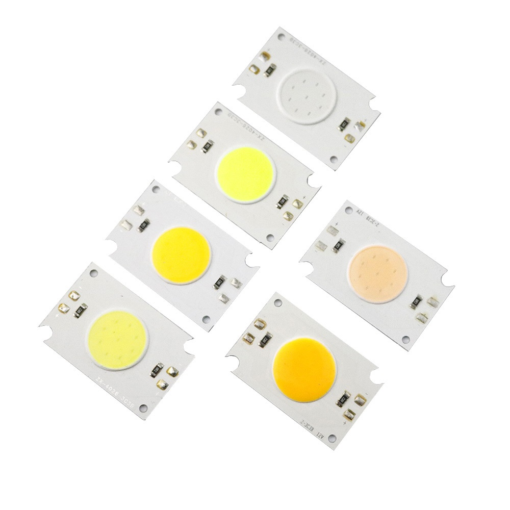 2W LED COB Light Module 40*26mm DC 12V Warm White/Red/Blue/Green/Orange/Pink