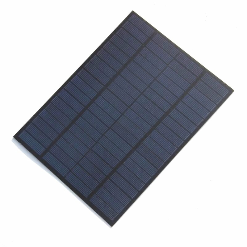 5W 18V Polysilicon Solar Panel Cell Battery Charger