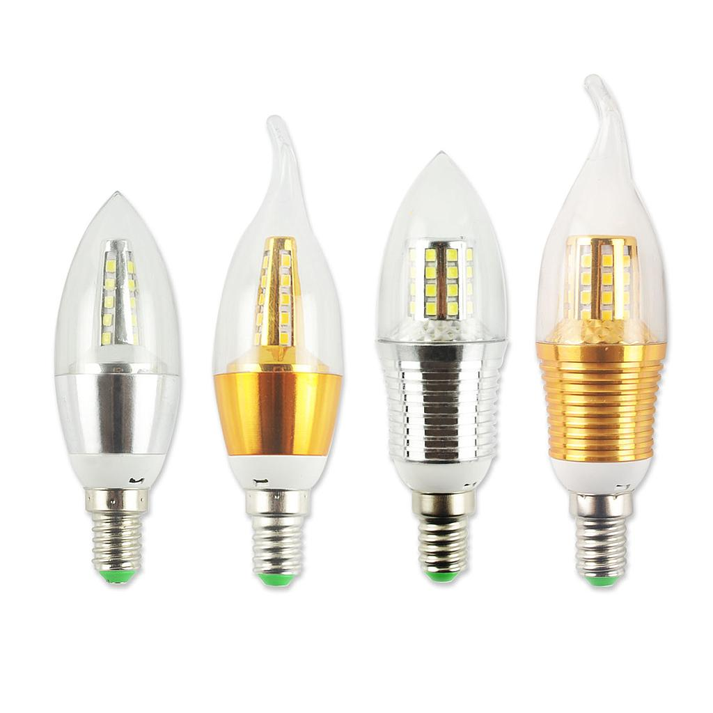 5W 7W 9W E14 2835 SMD LED Edison Bulb 220V Home Light LED Filament Candle Bulb