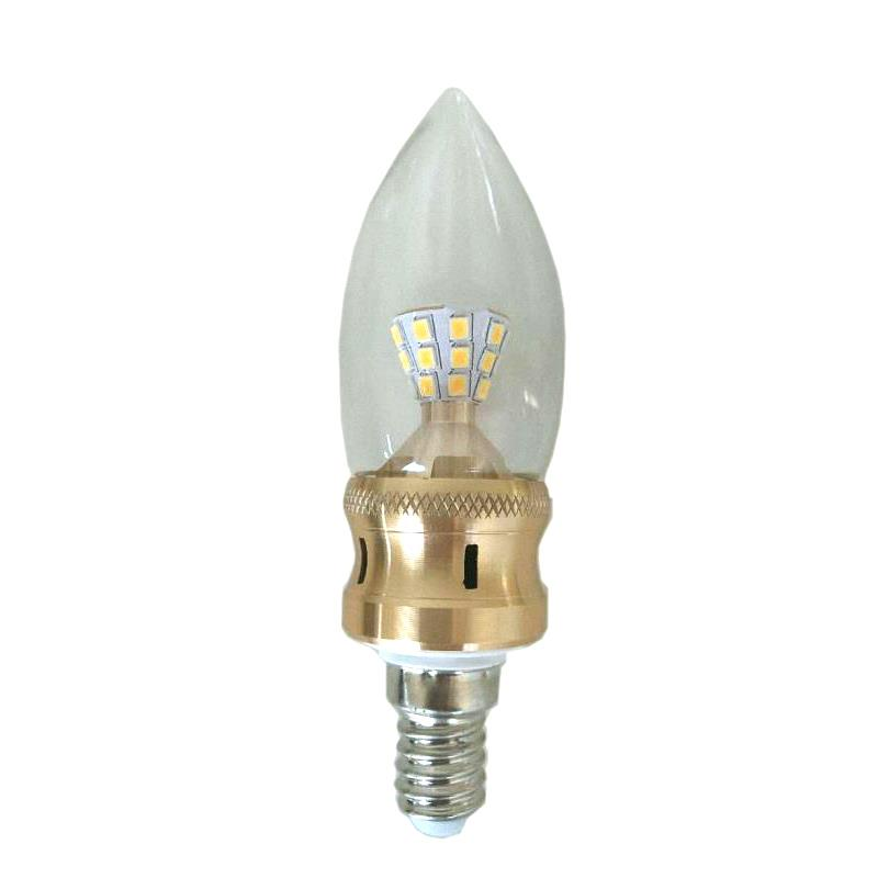 5W E14 LED Edison Bulb 85-265V Home Light LED Filament Candle Bulb