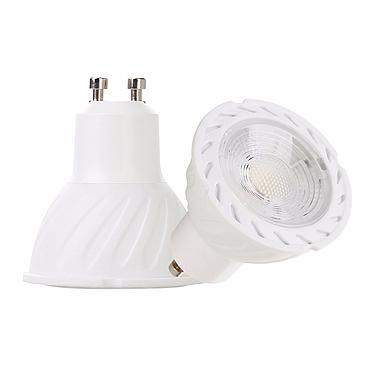 5W GU10 COB LED Bulb Lamp AC110V/220V LED Dimmable Spotlight