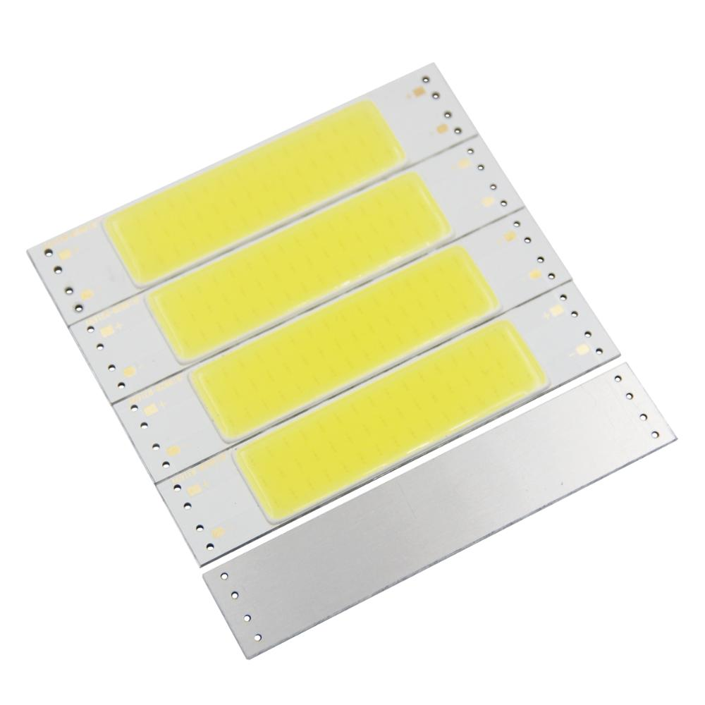 7W LED COB Light Bar Module 116*22mm 500mA White 5000K DC 12V