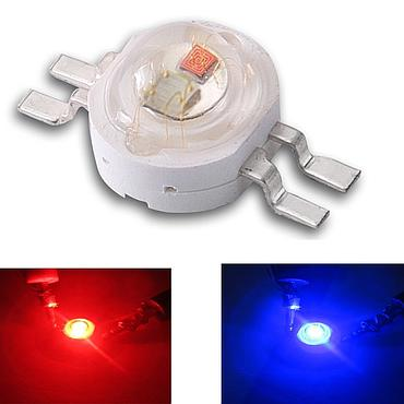 High Power Imitation Lumen RGB Led Four Feet Double Color Red White Green Blue Yellow