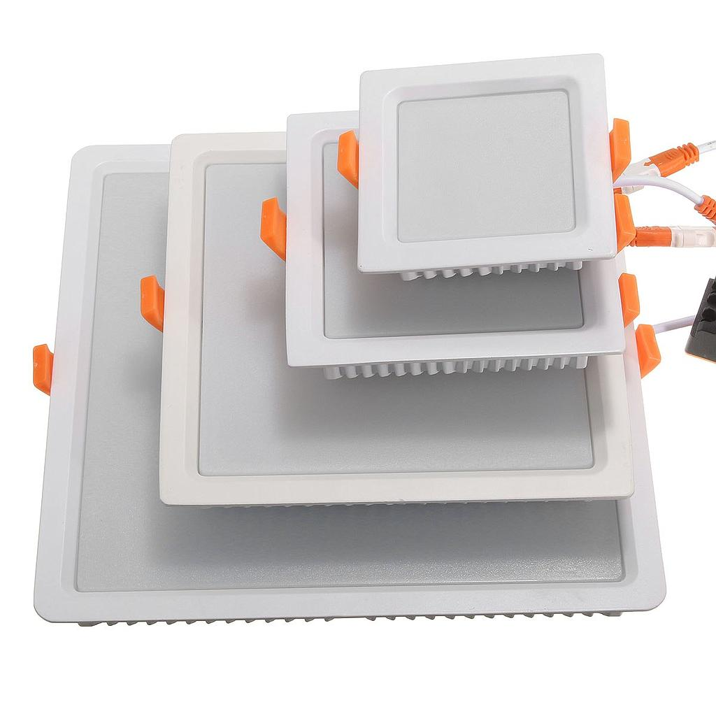 7W 16W 24W 32W AC85-265V LED Square Panel Light