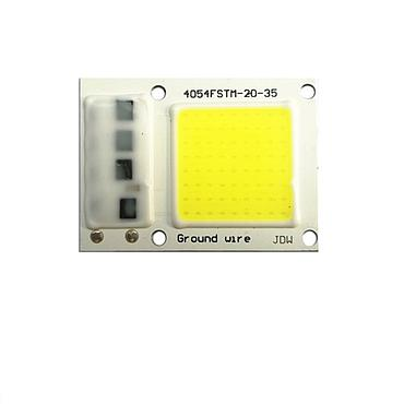 15W 20W 30W Driverless LED Light COB Chip Size 40x54mm Emitting 28x28mm
