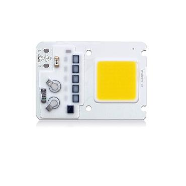 20W 30W 50W Driverless LED Light COB Chip Size 68x48mm Emitting 25x25mm