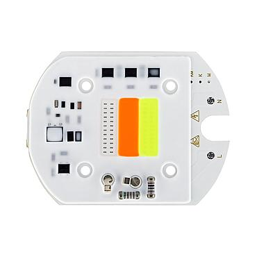 30W Driverless RGB LED Light COB Chip Size 81x62mm Emitting 24x24mm