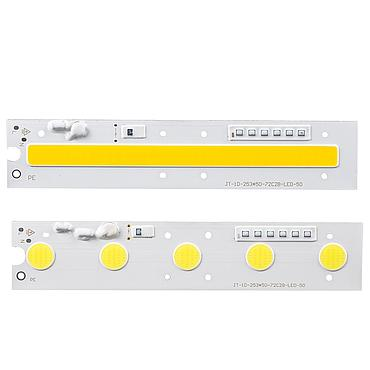 50W Driverless LED Light COB Chip Size138x50mm 169x35mm 185x55mm 253x50mm
