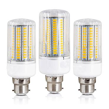 9W 12W 15W 20W 25W 30W 35W 40W 45W B22 5730 SMD LED Corn Bulb Lamp 110/220V Chandelier LEDs Candle light