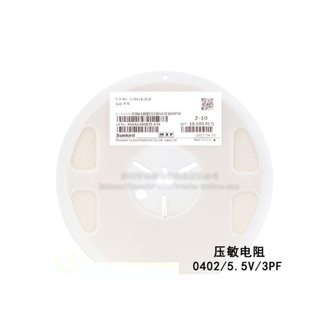 0402 Chip Multilayer Chip Varistor 5.5V