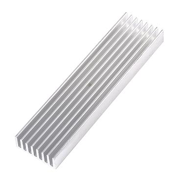100*25*10mm Aluminum Heatsink