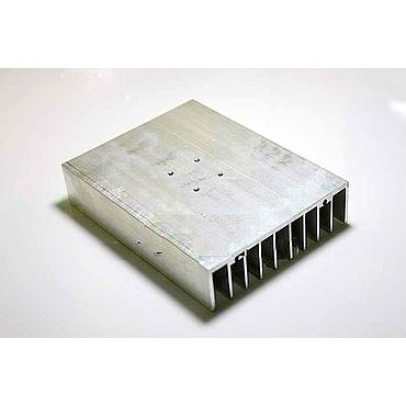 100*76*21mm Aluminum Heatsink Grayish for 10W Power LED