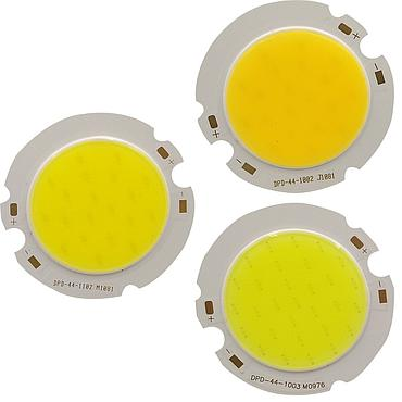 10W/15W/20W/25W/30W LED COB Module LED COB Round Panel 43MM Warm White/White/Cold White