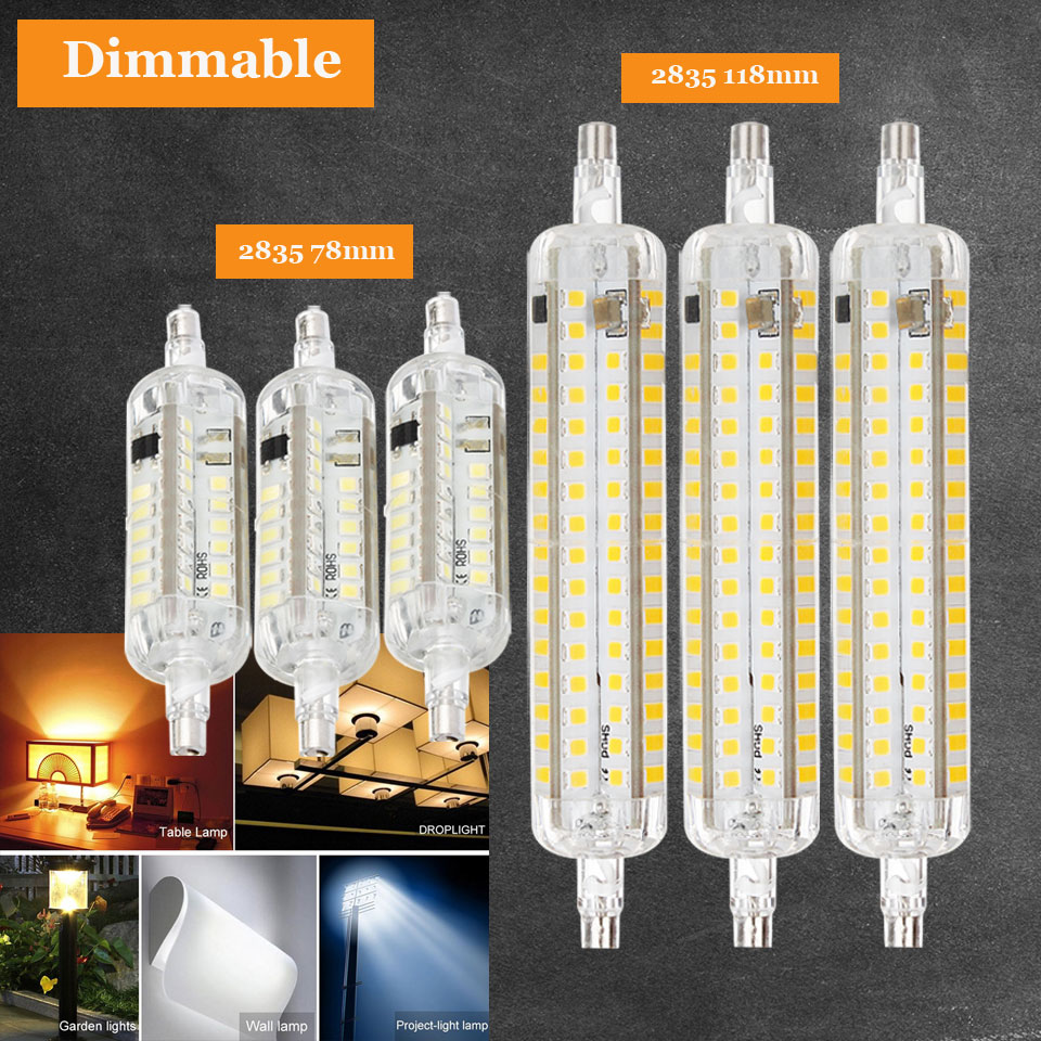 10W 15W R7S 2835 SMD LED Corn Bulb Lamp AC220V LED Floodlight