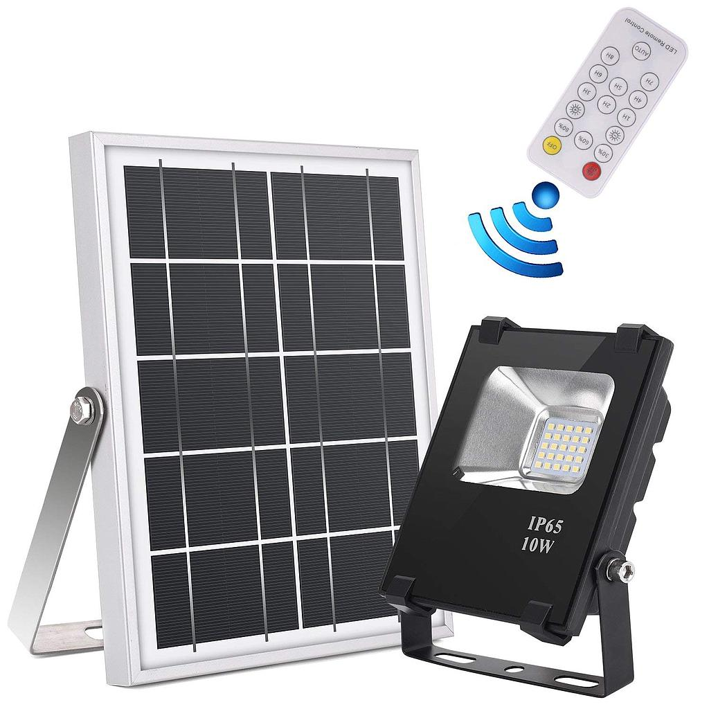10W 20W 30W 50W 100W 150W 2835 SMD Solar LED Flood Light with Remote Control