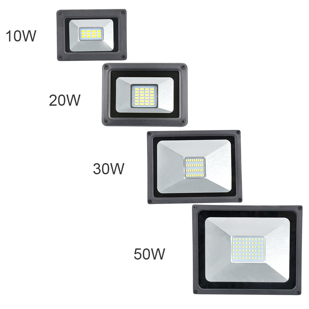 10W 20W 30W 50W 5730 SMD LED Solar Flood Light