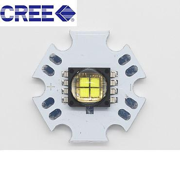 10W CREE MCE High Power LED Emitter Warm Neutral White/White With 20mm Aluminum PCB