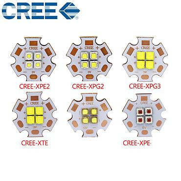 10W CREE XPE 2 Generation High Power LED Diode Copper PCB Emitter Warm White Red/Blue/Green/Yellow