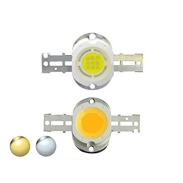 10W High Power LED Emitter White 2700-35000K Round Shape