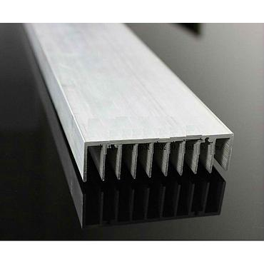 1200*76*21mm Aluminum Heatsink Grille Type for 20*3W or 50*1W Power LED