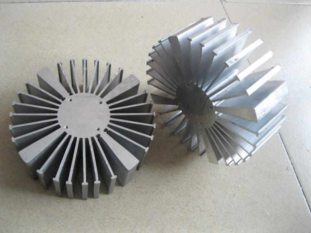 160mm Diameter LED heatsink Suitable for 20W 30W 50W 80W 100W Power LED
