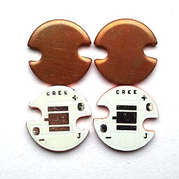 16mm CREE XML2 T5T6U2U3 LED Copper Base Plate PCB Board