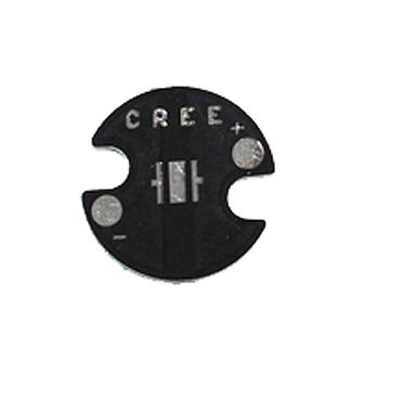 16mm CREE XPE/XPG/XTE/3535  Black Aluminum Base Plate PCB Board