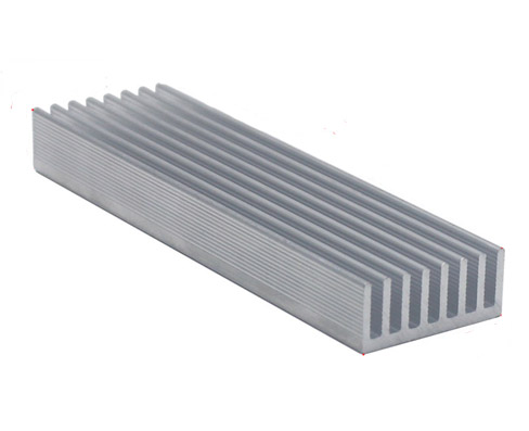 196*25*12mm Aluminum Heatsink for 8*1W or 3*3W Power LED