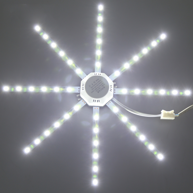 220V 5730 SMD LED Ceiling Lamp 12W 16W 20W 24W LED Light Board Emitting Cold White