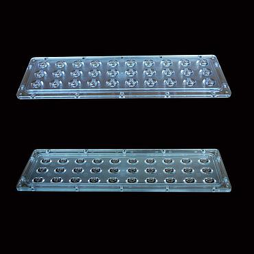 247x73mm LED Module Lens 3x10 pcs Street Lamp Lens