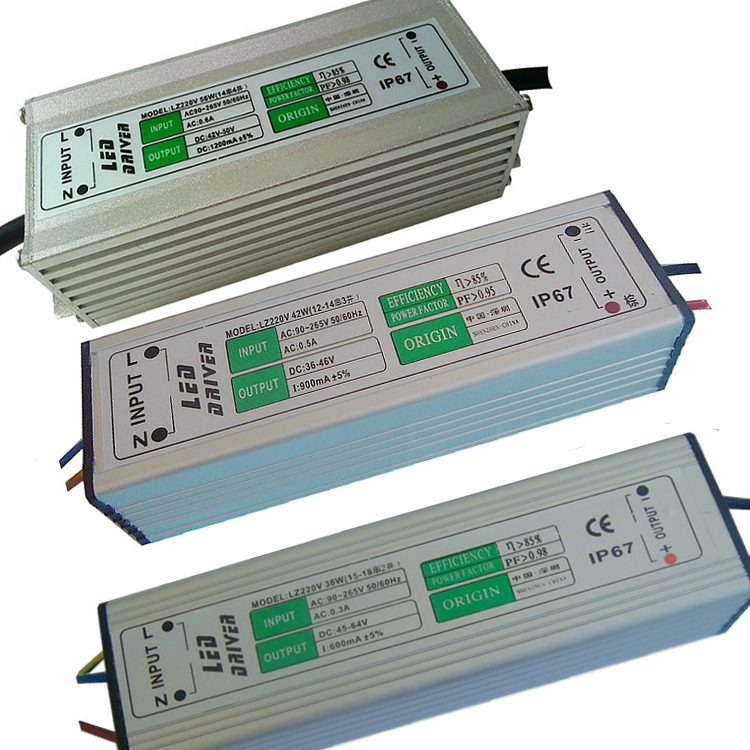 36W 42W 56W 70W 84W 98W 112W 126W 140W 154W 168W 196W 240W LED Constant Current Driver AC85-265V Input Isolated Power Adapter