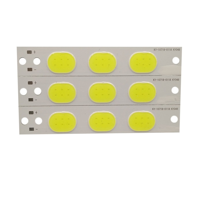3.6W LED COB Light Module 107*18mm DC 3V White