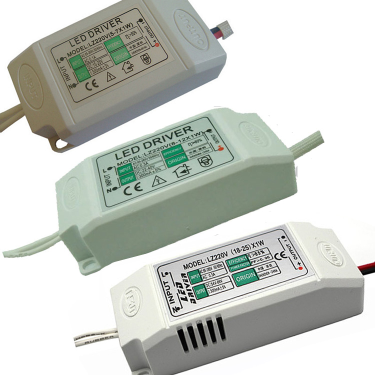 300mA LED Constant Current Driver for 1W Power LED 4-36*1W AC85-265V Input Isolated Power Adapter