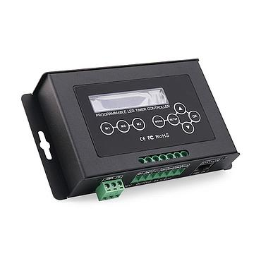4-Channel DMX512 Input Signal Programmable LED Timer Dimmer Aquarium Controller for LED Strip Pixel Light Lamp Bulbs