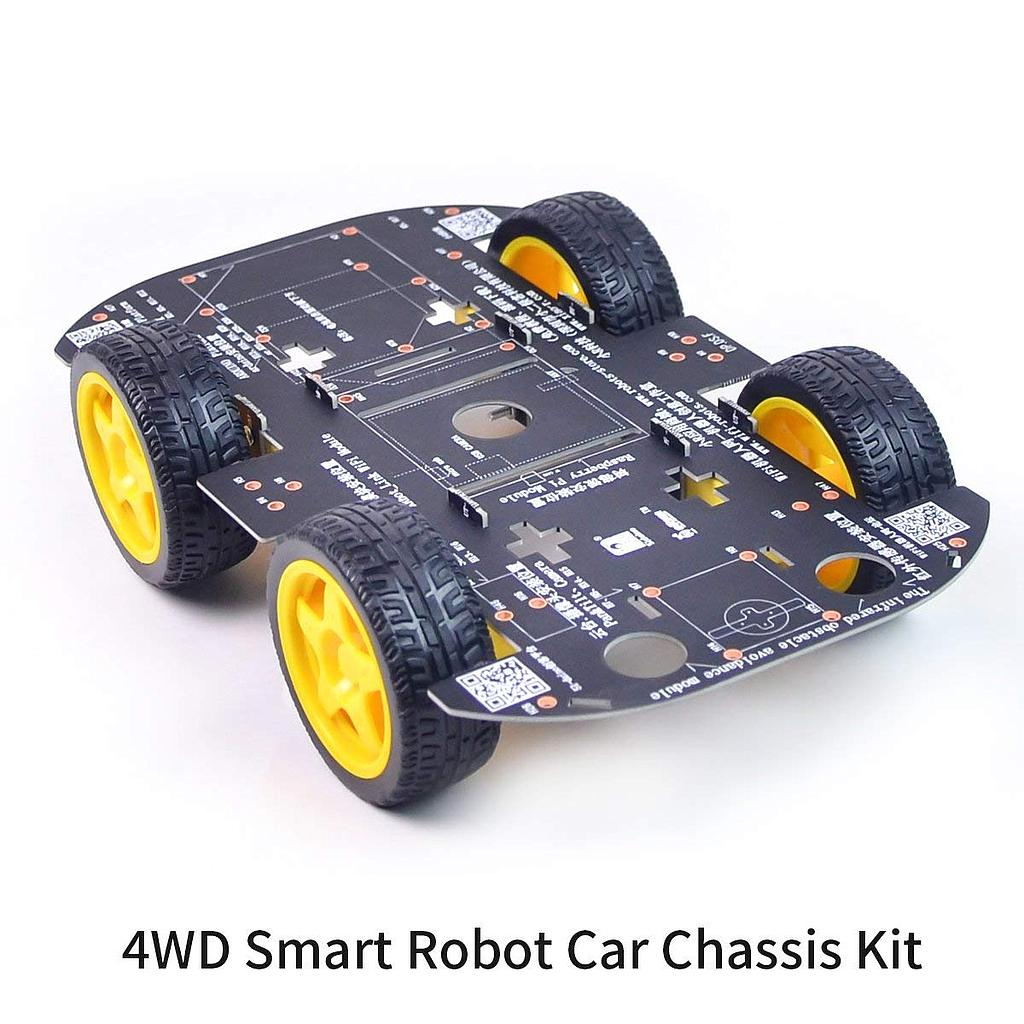 4WD Robot Chassis Kit with 4 TT Motor for Arduino/Raspberry Pi