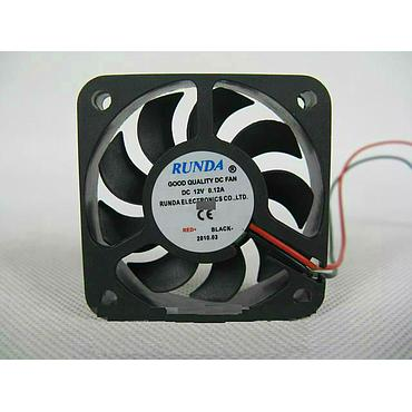 5012 50*50*12mm High Power LED Fans Heatsink 12V