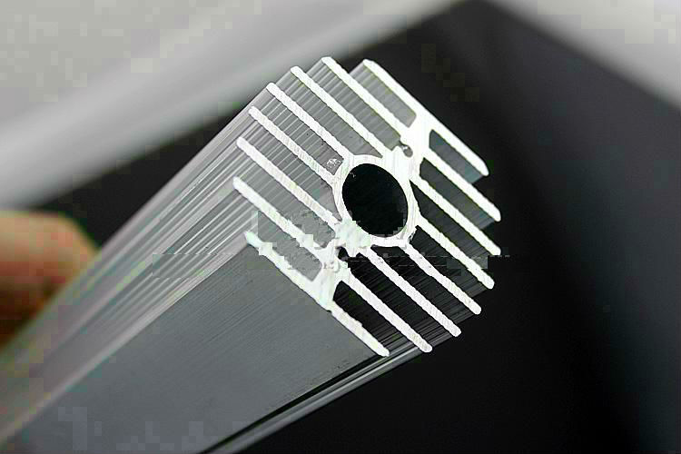 50mm Diameter Aluminum Heatsink Oblateness Sunflower Type