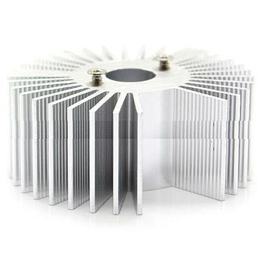 53mm*22mm High Power LED Alluminum Heatsink Suitable for 3W/5W LED