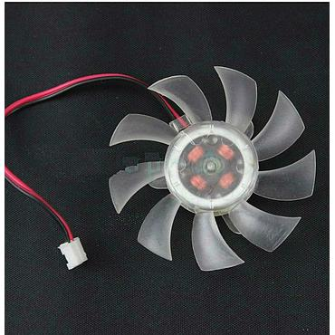 55mm Video Card Silent Fan LED Heatsink DC12V