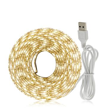 5V 2835 SMD USB Flexible LED Strip Emitting Warm White / White