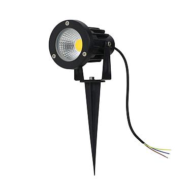 5W AC110V/220V DC12V Mini LED Floodlight LED Lawn Light Spike Type