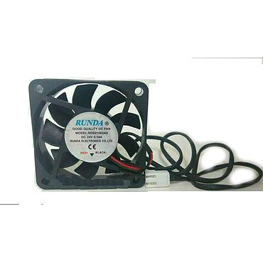 6015 60*15mm High Power LED Fans Heatsink 12V