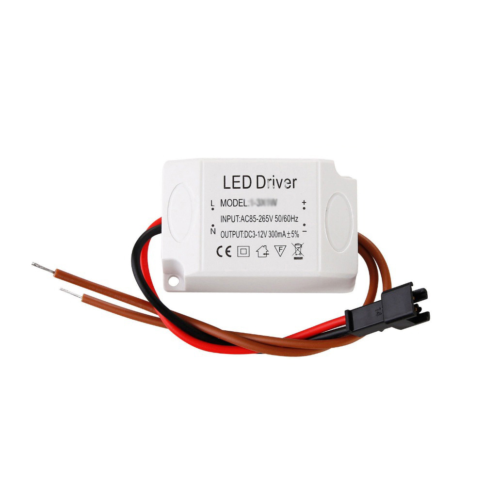 6W 450mA LED Dimmable Constant Current Driver 110V/220V Input Non-isolated Power Adapter