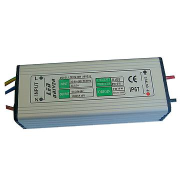 8-12W 16-24W 600mA LED Constant Current Driver AC85-265V Input Isolated Power Adapter