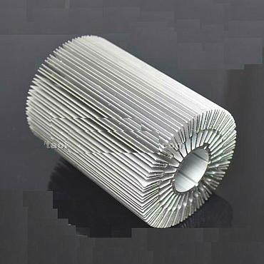 90mm*120mm High Power LED Alluminum Heatsink Suitable for 30W LED