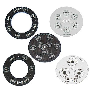 9W/18W/24W/27W RGB LED Circular Aluminum Base Plate for Underground/Ceiling Lamp
