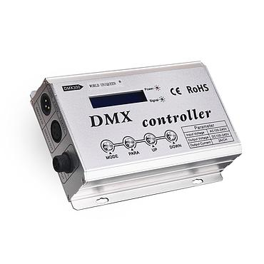 AC100-240V 3*2A High Voltage DMX Controller w/LCD Display