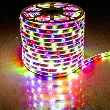 AC 220V 2835 SMD Flexible Rope Light 90LEDs/m Plum Blossom Shape Lighting Flash